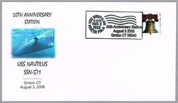50 Aniversario Submaniro Nuclear USS NAUTILUS SSN-571. Groton CT 2008 - Submarines