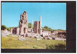 Libye Libya Leptis Ruderi Ruines Ruines + Timbre Cachet 1971 - Libya