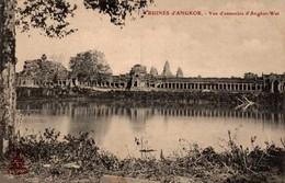RUINES D'ANGKOR VUE D'ENSEMBLE D'ANGKOR WAT - Cambodia