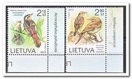 Litouwen 2013, Postfris MNH, Birds - Litouwen