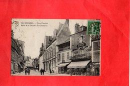 F2101 - BOURGES - D18 - Place Planchat Hôtel De La Chambre Du Commerce - Bourges
