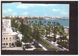 Libye Libya Tripoli Lungomare Giardini Seaside Gardens + Timbre 2 Timbres Cachet 1962 - Libya