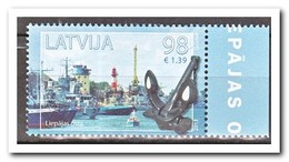 Letland 2013, Postfris MNH, Lighthouses, Ships - Letland