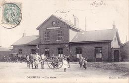 CPA - 59 - ORCHIES - La Gare - Orchies