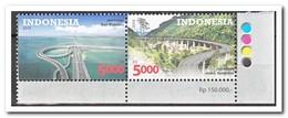 Indonesië 2014, Postfris MNH, Bridges - Letland