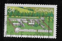 CANADA, 1985, USED, #1056   Fort WALSH SK, USED - 1952-.... Règne D'Elizabeth II