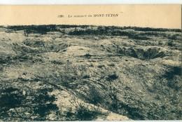51 - Monts De Champagne : Le Sommet Du Mont Têton - Francia