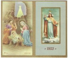 Calendrier. Religion. Missions Pères Assomptionistes. 1953. - Calendriers