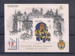 ESPAÑA 1993 - PRUEBA EXPOSICION FILATELICA EXFILNA 93 - EDIFIL Nº 29 - 1991-00 Nuevos & Fijasellos