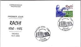 RABINO RACHI 1040-1105. Troyes 2005 - Judaísmo