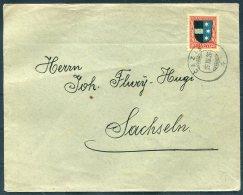 1926 Switzerland Cazis Cover. Pro Juventute 20c - Pro Juventute