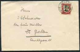 1925 Switzerland Pro Juventute 20c Cover - St Gallen - Pro Juventute