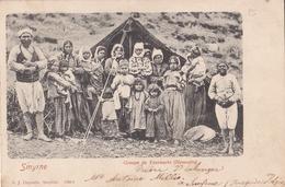 SMYRNE  Groupe De YOUROUCES ( Nomades )  + CP Des Ruines D'EPHESE (nouvelles Excavations 1899) - Cartes Postales