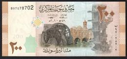 SIRIA (SYRIA)  :  200  Pounds - P113 - UNC - Syria