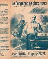 CAF CONC GERMAINE LIX PARTITION LE FORGERON DE CHEZ NOUS JEAN FRANC EUGÈNE SIZES OLYMPIA 1924 LGBT - Musique & Instruments