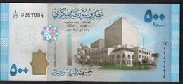 SIRIA (SYRIA)  :  500  Pounds - P114 - UNC - Syrie