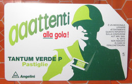 TELECOM LIRE 5.000 TANTUM VERDE   SCHEDA TELEFONICA USED - Italia