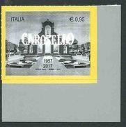Italia 2017; Carosello,60° Anniversario Della Prima Messa In Onda. Siparietto. Angolo. - 2011-...: Mint/hinged