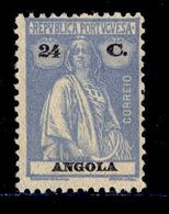 ! ! Angola - 1925 Ceres 25 C - Af. 214 - MNH - Angola