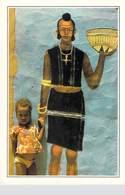 Afrique > NIGER Zinder Peinture Murale  Petite Fille Peul (tribu) *PRIX FIXE - Niger