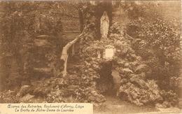 LIEGE  --  Oeuvres Des Retraites, Boulevard D'Avroy  -- La Grotte De Notre-Dame De Lourdes - Liege