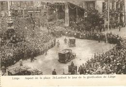 LIEGE  --  Aspect De La Place St-Lambert Le Jour De La Glorification De Liége - Liege