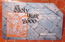 TELECOM LIRE 10.000 GIUBILEO 2000  SCHEDA TELEFONICA USED - Italia
