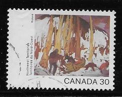 CANADA. 1982, USED # 958,  CANADA DAY :   NORTHWEST TERRITORIES - 1952-.... Règne D'Elizabeth II