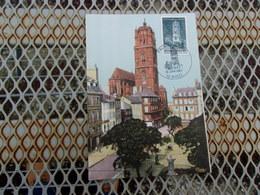 FRANCE (1967) Cathédrale De RODEZ - Cartas Máxima