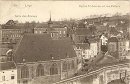 LIEGE  --  Asile Des Aliénés  -  Eglise St-Servais Et Rue Volière - Liege