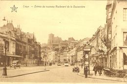 LIEGE  --  Entrée Du Nouveau Boulevard De La Sauvenière ( TRAM ) - Liege