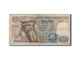 Billet, Belgique, 1000 Francs, 1961, 1961-01-09, KM:136a, TB - 1000 Francs