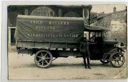 PIERREFITTE SUR AIRE , Camion Des Moulins Emile Baytere, Cp Photo - Pierrefitte Sur Aire