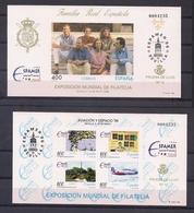 ESPAÑA 1996 - PRUEBA EXPOSICION MUNDIAL DE FILATELIA ESPAMER 96 - EDIFIL Nº 58-59 - MISMA NUMERACION - 1931-Aujourd'hui: II. République - ....Juan Carlos I