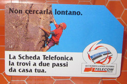 TELECOM LIRE 10.000    SCHEDA TELEFONICA USED - Public Advertising