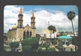 Mazatlan - Sinaloa - Catedral Y Kiosco - Mexico