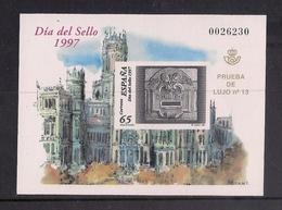 ESPAÑA 1997 - PRUEBA DIA DEL SELLO 1997 - EDIFIL Nº 62 - 1991-00 Neufs