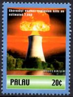 PALAU 2000 1v MNH Chernobyl Nuclear Explosion Ukraina USSR Atom Catastrophes Disasters Katastrophen Atoms - Atomo