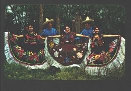 Tehuantepec - Danza Regional Del Istmo De Tehuantepec - Folkore - Costumes - Dance / Danse - Mexico