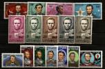 Grande Série Coloniale Complète 1965, 16 Valeurs ** Président, USA, Abraham Lincoln, Colombe, Erable, Paix, Etats-Unis - France (ex-colonies & Protectorats)