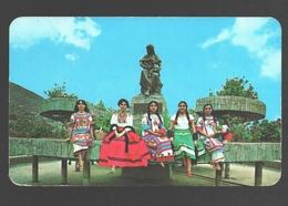 Oaxaca - El Monumento A La Madre Y Trajes Regionales - Costumes - Folklore - Mexico
