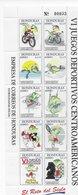 Honduras 1996;3x S/s Chess Juegos Deportivos Ajedrez Different Sheetnbr - Honduras