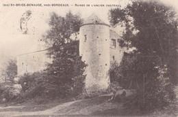 SAINT-BRICE - BENAUGE - Ruines De L'Ancien Château - France