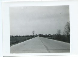 Hoogstade Alveringem FOTO Weg 65 Ieper-Veurne Betonwerken Te Hoogstade 08/04/1953 - Alveringem