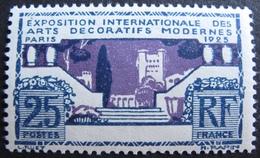 R1692/57 - EXPO ARTS DECO PARIS 1924 - N°213 NEUF** - Neufs