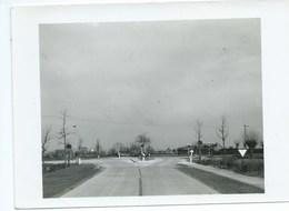 Hoogstade Alveringem FOTO Weg 65 Ieper-Veurne Kruispunt Te Hoogstade 08/04/1953 - Alveringem