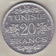 TUNISIE. 20 FRANCS 1934 (AH 1353). ARGENT / SILVER - Tunisie