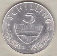 Autriche 5 Schilling 1961 En Argent - Austria