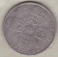 Grande Bretagne. One Florin 1922. George V , En Argent - 1902-1971 : Monnaies Post-Victoriennes