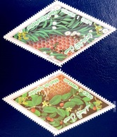 ALGERIE ALGERIA 2018 - BEES ABEILLES BIENEN MIEL HONEY INSECTES INSECTS ODD SHAPE LOSANGE DIAMOND -FROM 100% PROFILE MNH - Honeybees